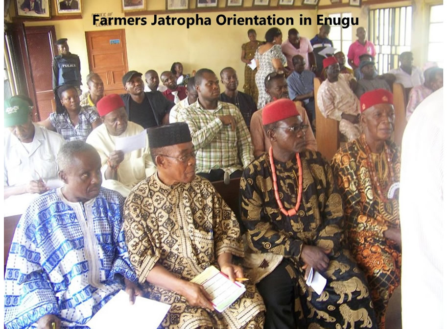 Farmers Jatropha Orientation in Enugu