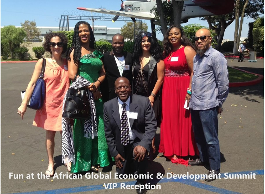 Fun at the African Global Economic & Development Summit VIP Reception