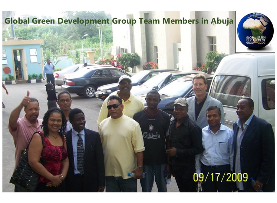 Global Green Development Group Team Members in Abuja