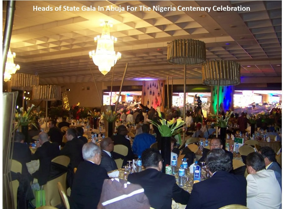 Heads of State Gala In Abuja For The Nigeria Centenary Celebration