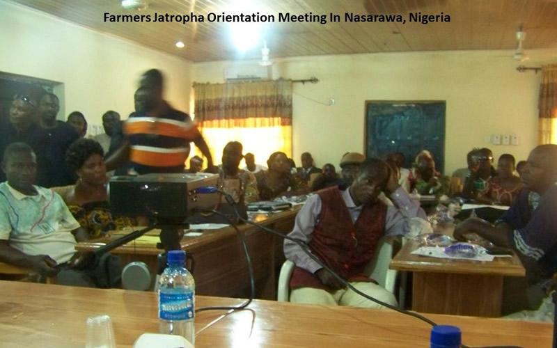 Farmers Orientation Meeting In Nasarawa, Nigeria