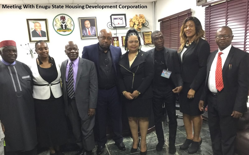 Meeting with Enugu State Housing Developement Corporation
