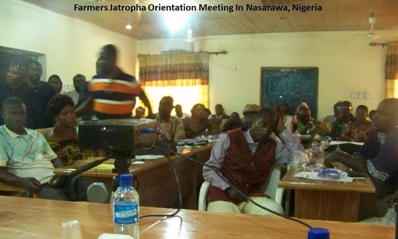 Farmers Orientation Meeting In Nasarawa, Nigeria